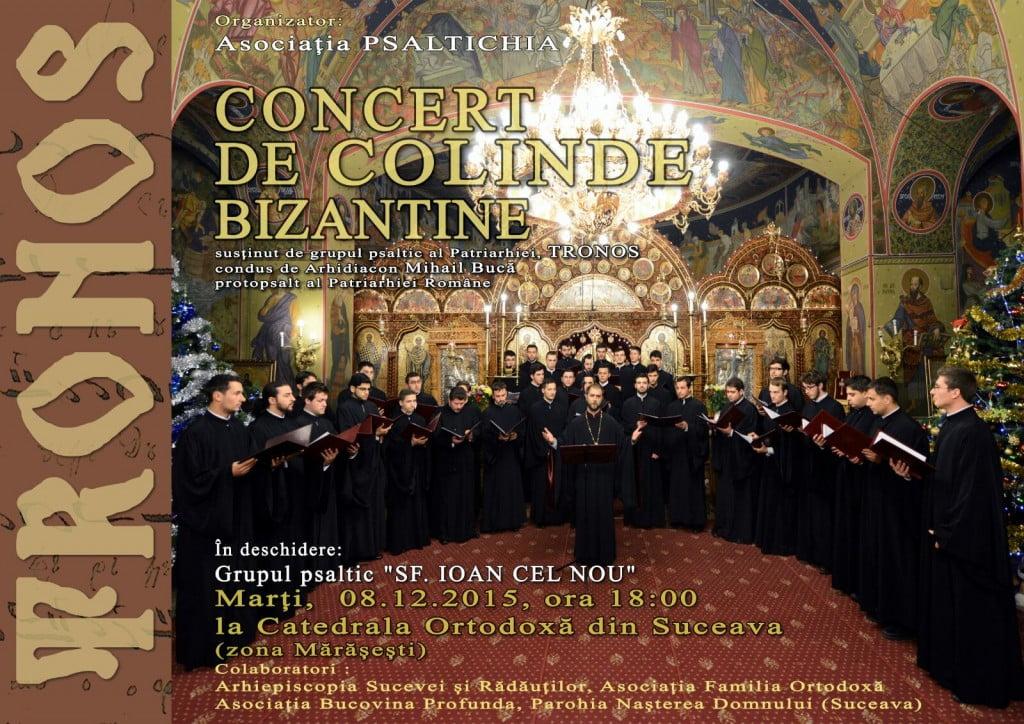 afis concert bizantin