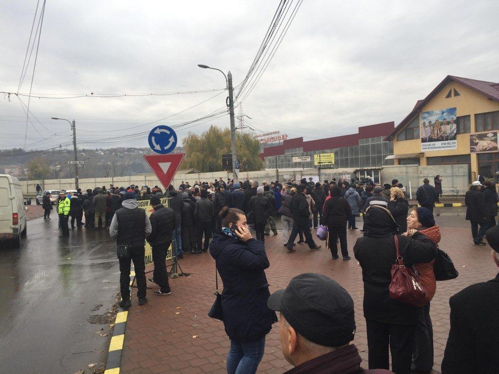 bazar protest