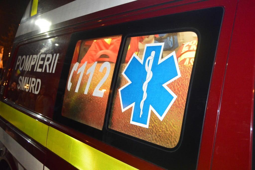 pompieri smurd accident