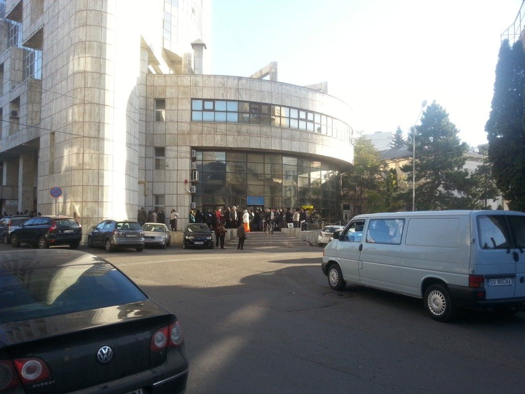 protest Finante Suceava