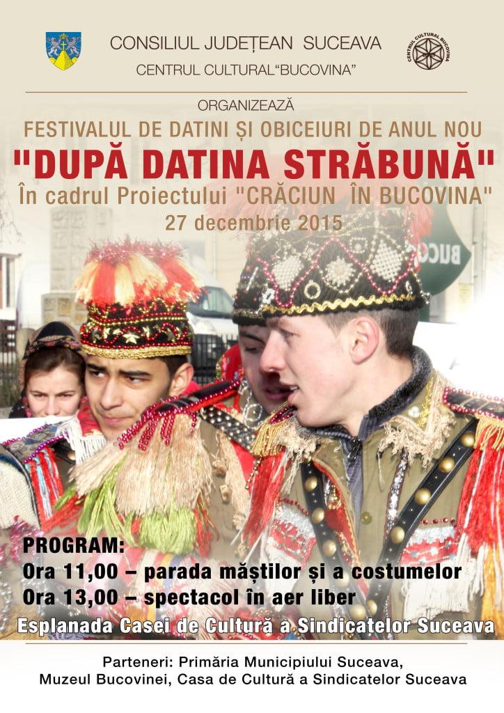 Afis 27 dec - Dupa Datina Strabuna