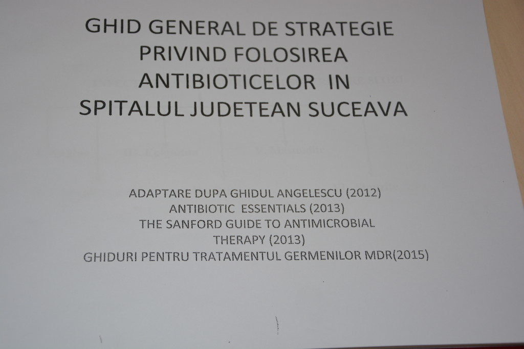 ghid antibiotice