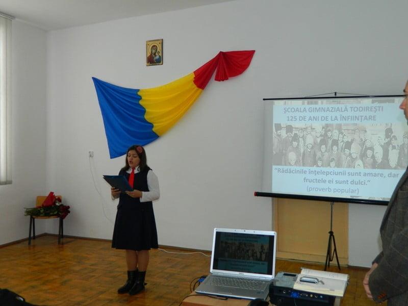 scoala Todiresti, 125 de ani de la infiintare (1)