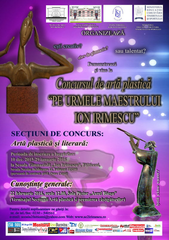 PE URMELE MAESTRULUI ION IRIMESCU-Concurs de arta   plastica-AFIS