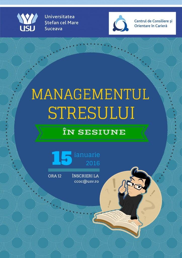 afis managementul stresului