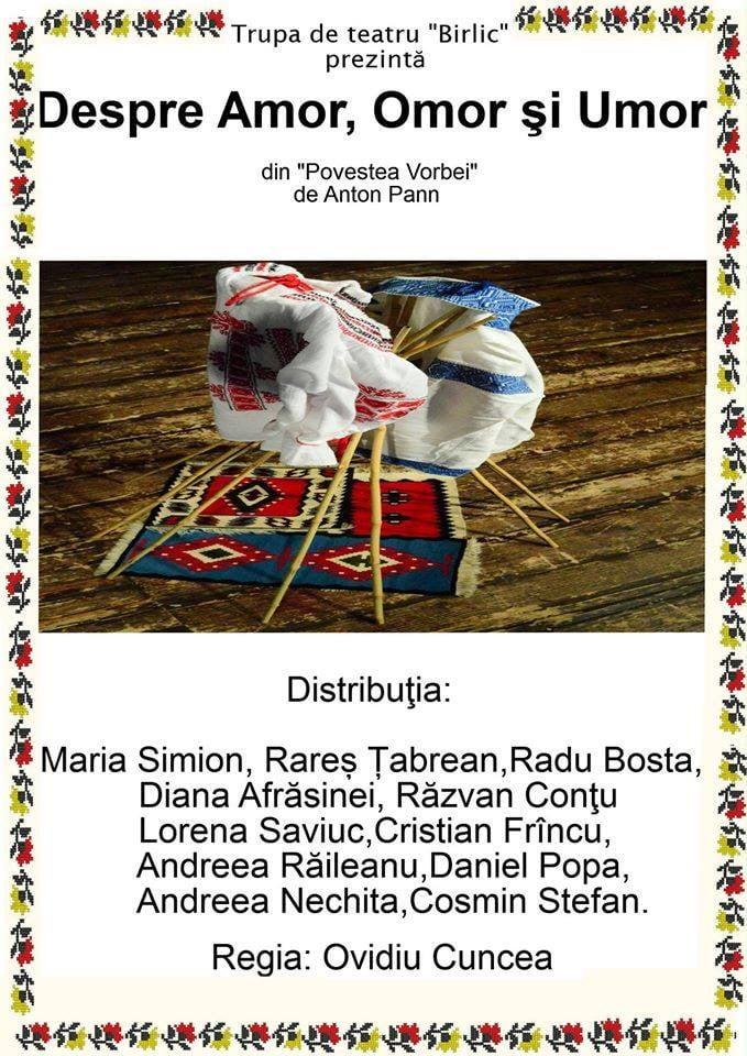 afis trupa de teatru birlic