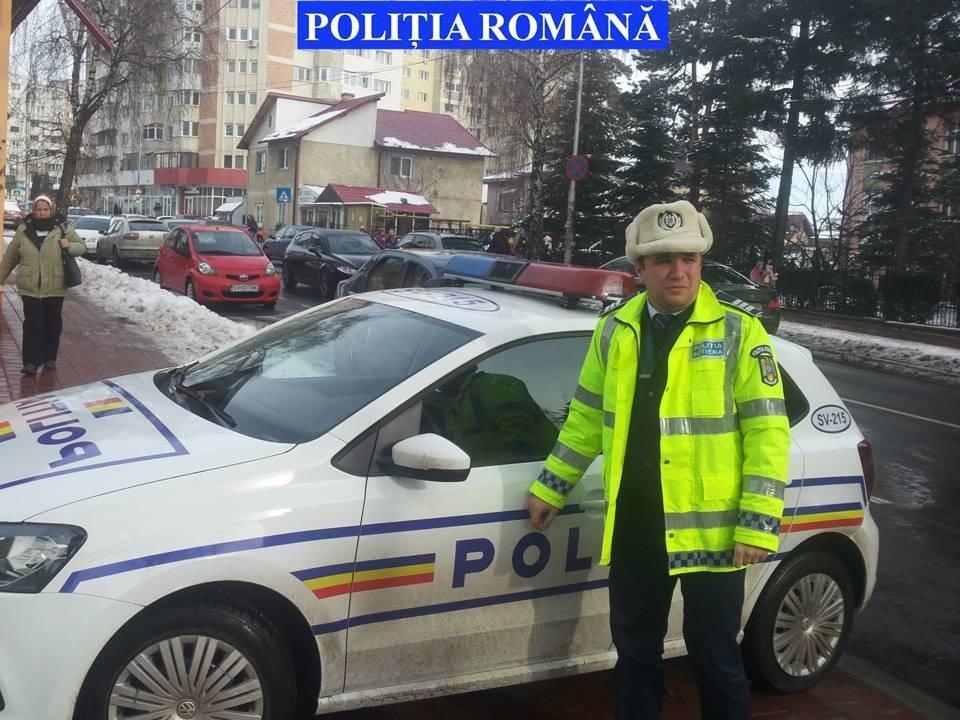 politisti in zona scolilor 2016
