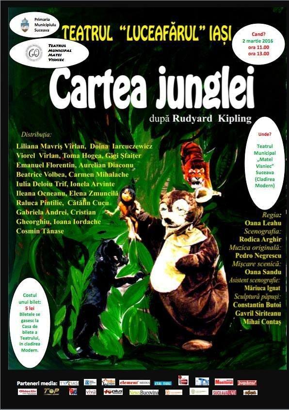 afis cartea junglei