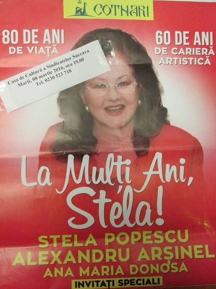 afis stela popescu