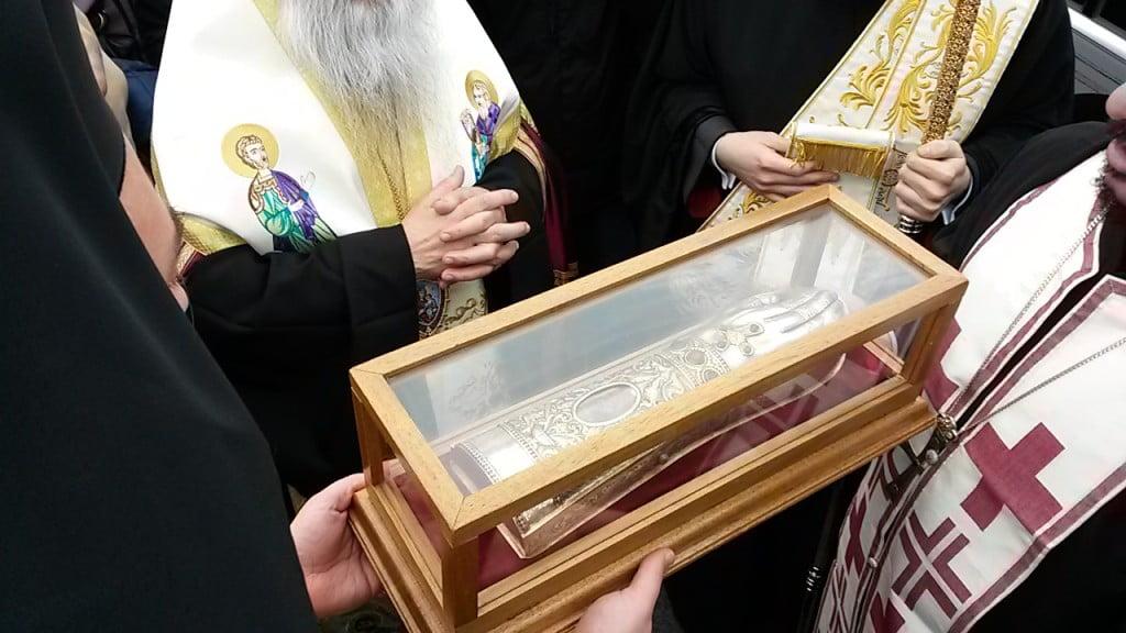 mâna dreaptă a Sf. Ierarh Nectarie