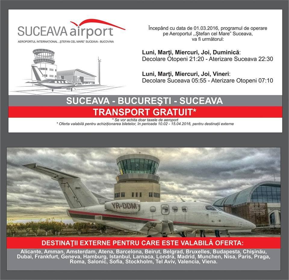 oferta aeroport programului vară