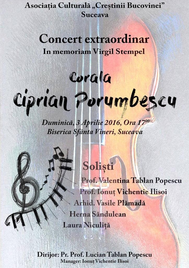 """Concert Coral """"In memoriam Virgil Stempel"""""""