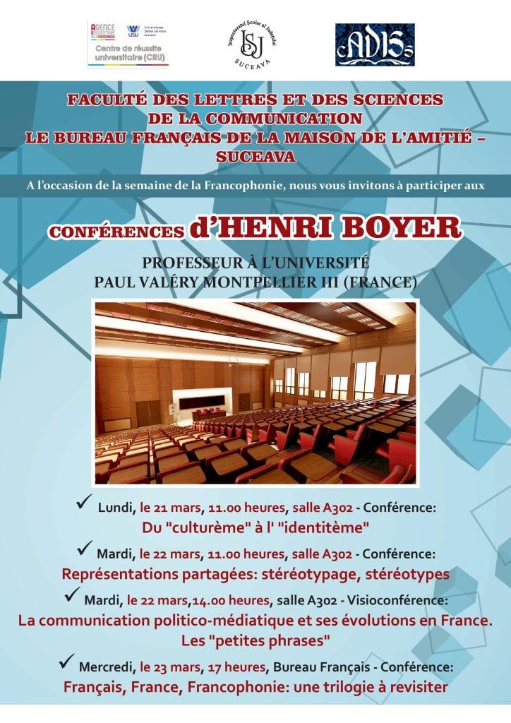 afis conferinta Boyer