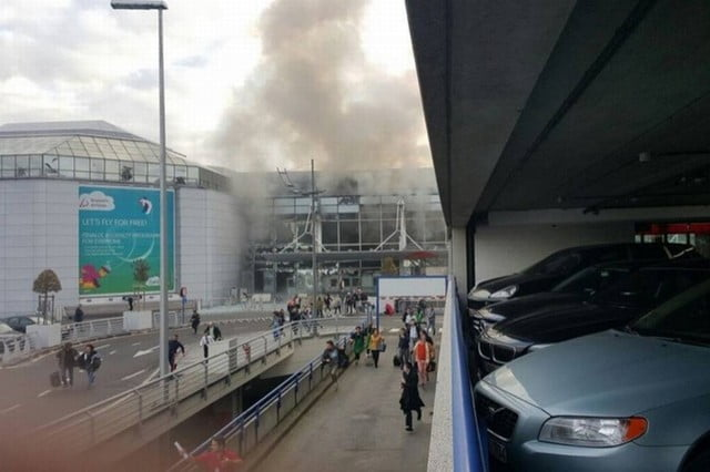 explozie Bruxelles