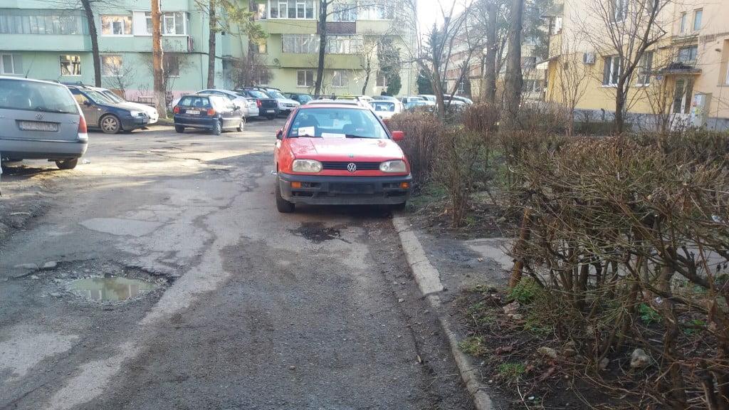 masina fara numar, parcare ilegala (3)