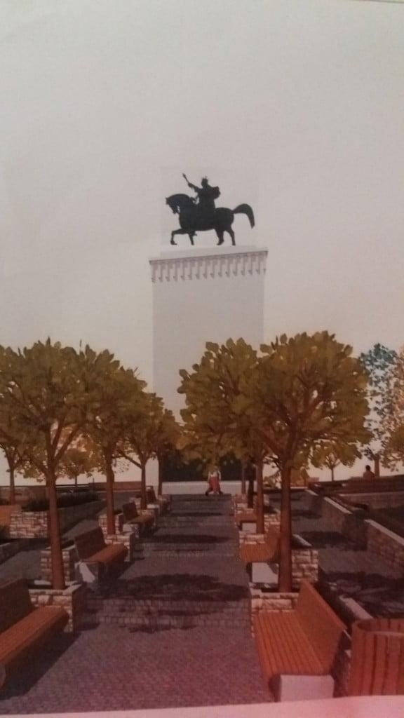 proiect modernizare statuie Stefan cel Mare Cetate (2)