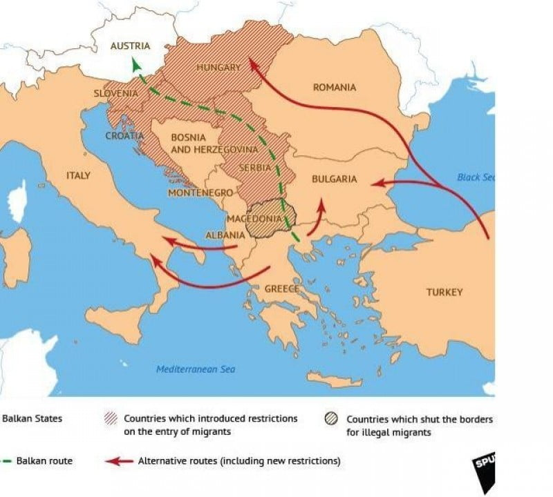 ruta alternativa refugiati