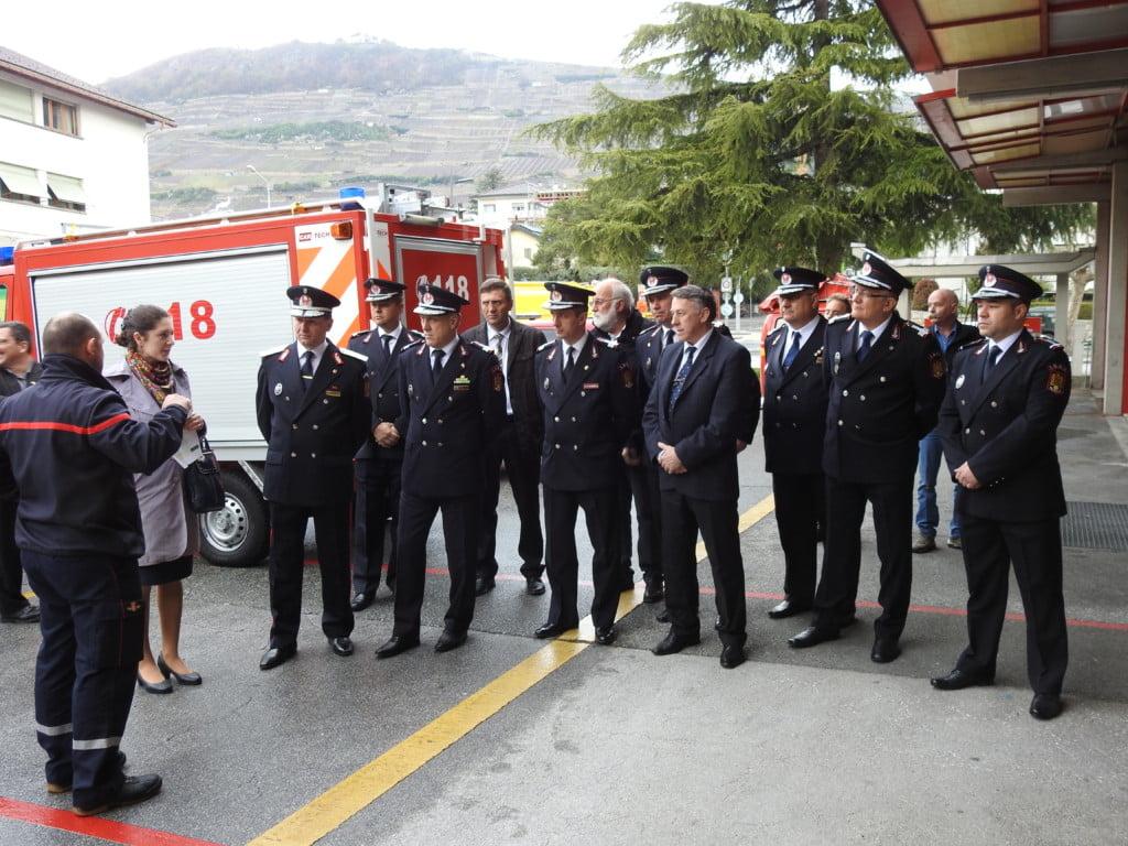 Burlui si pompierii in Elvetia (1)