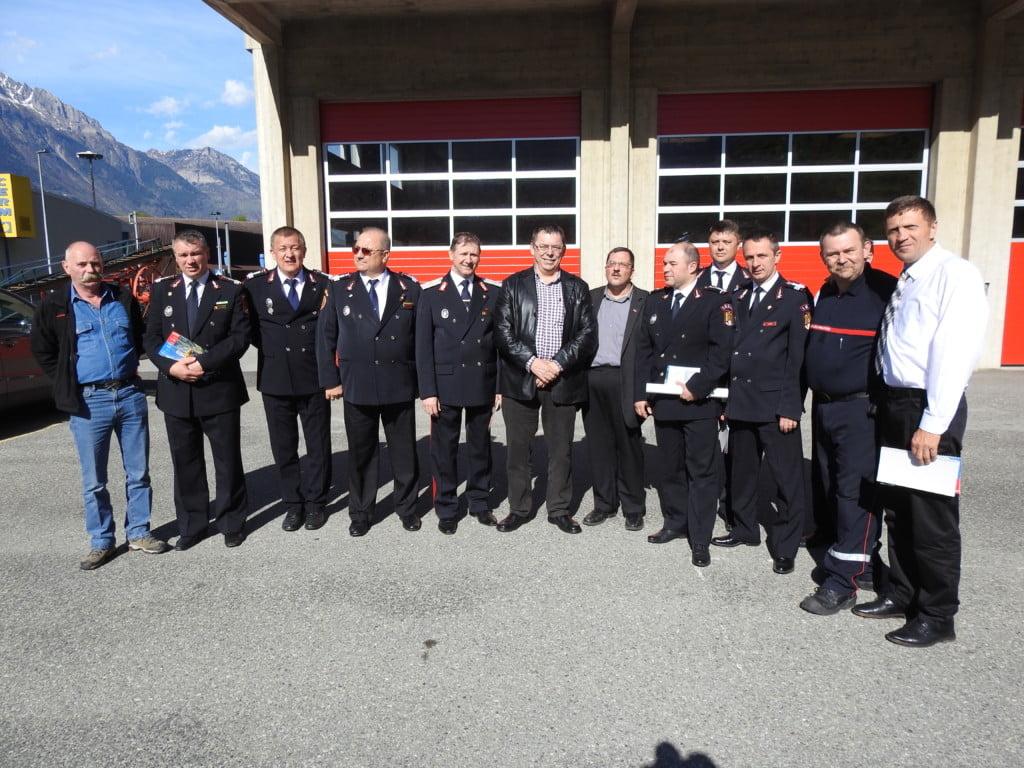 Burlui si pompierii in Elvetia (2)