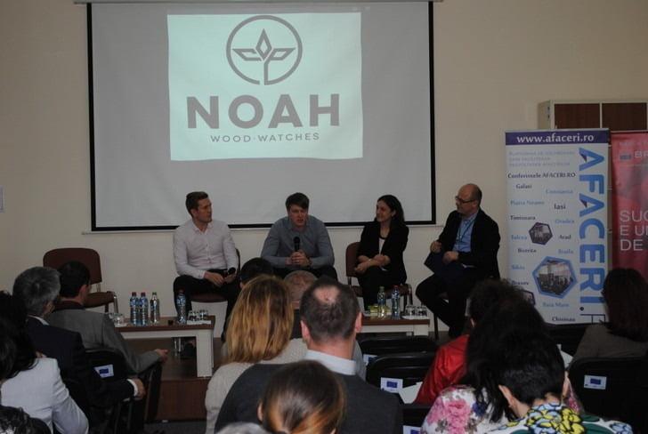 afaceri.ro, ceasurile Noah