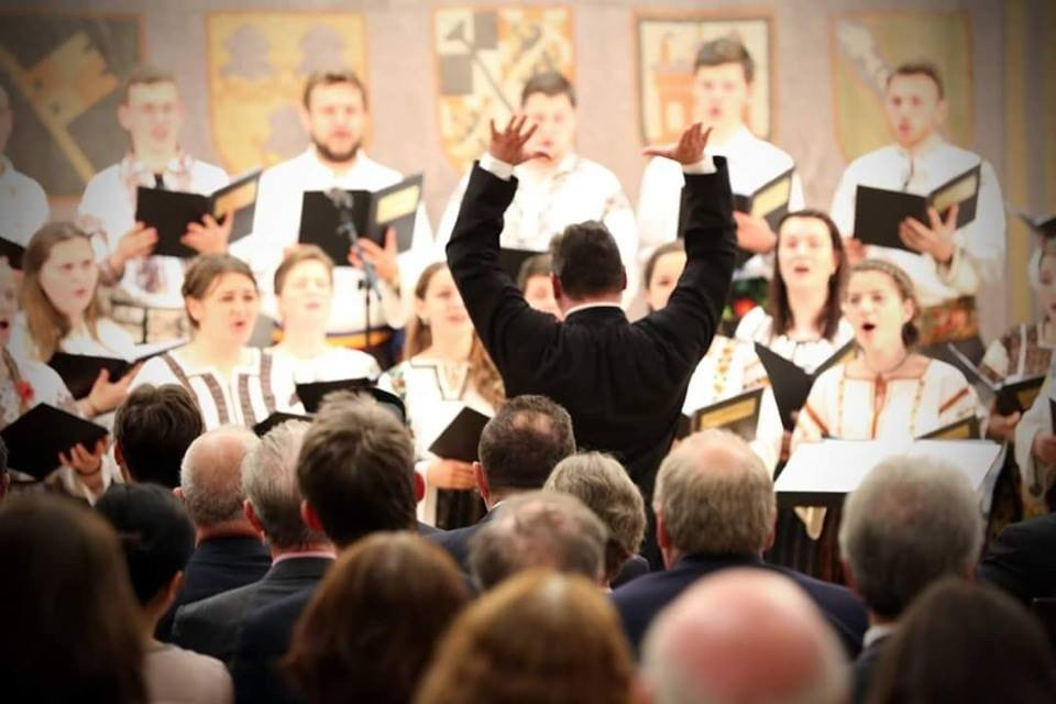 concert Corala Ciprian Porumbescu, in Germania (1)
