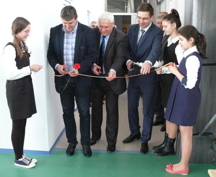inaugurare sala sport Falticeni  Coman, Lazar,