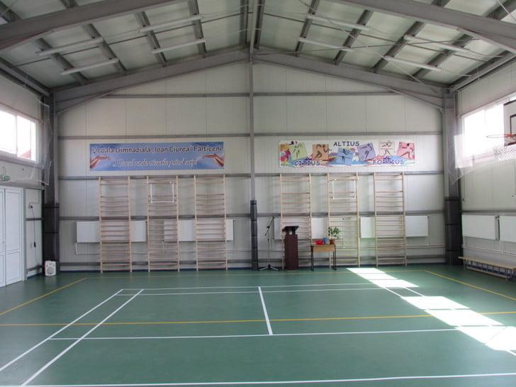 inaugurare sala sport Falticeni