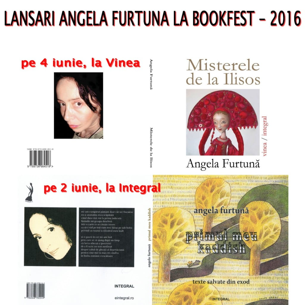 Angela Furtuna lansari la Bookfest 2016