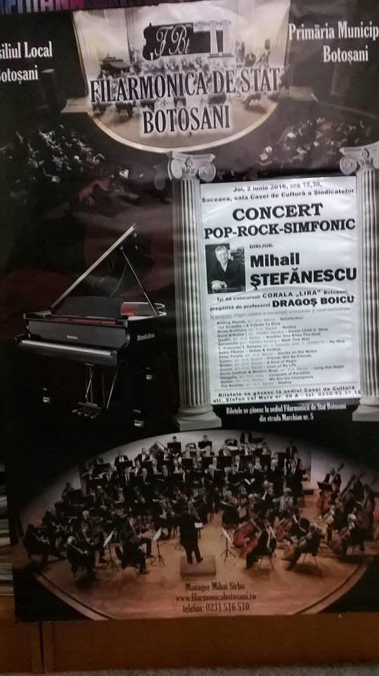 afis concert pop rock simfonic