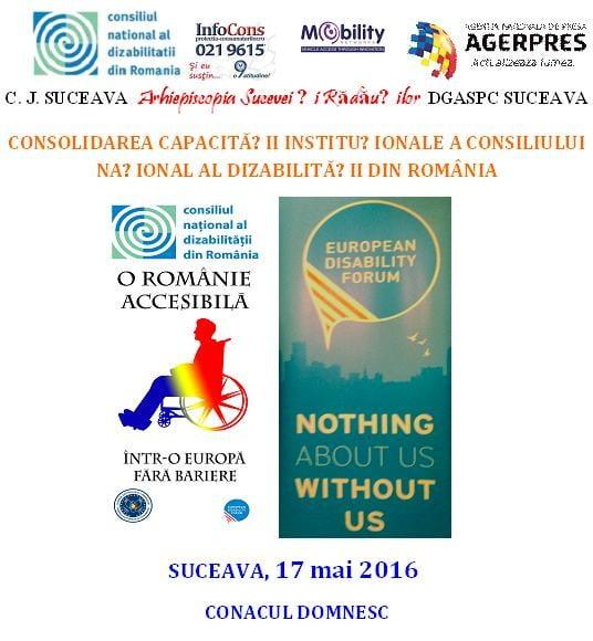conferinta dizabilităţi