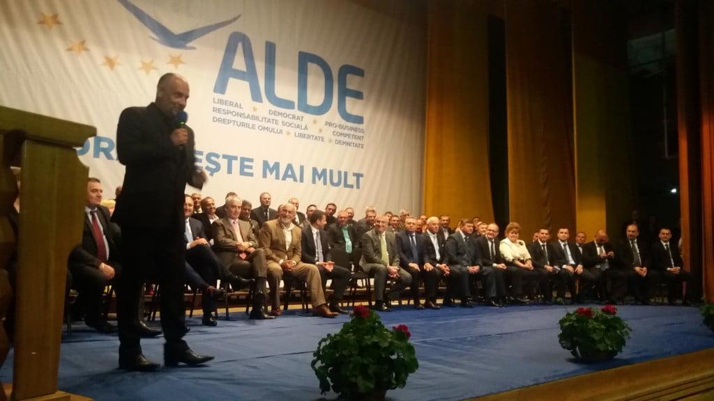 lansare candidati ALDE, Baisanu, Tariceanu, Vosganian, Constanti, Nita, Milici