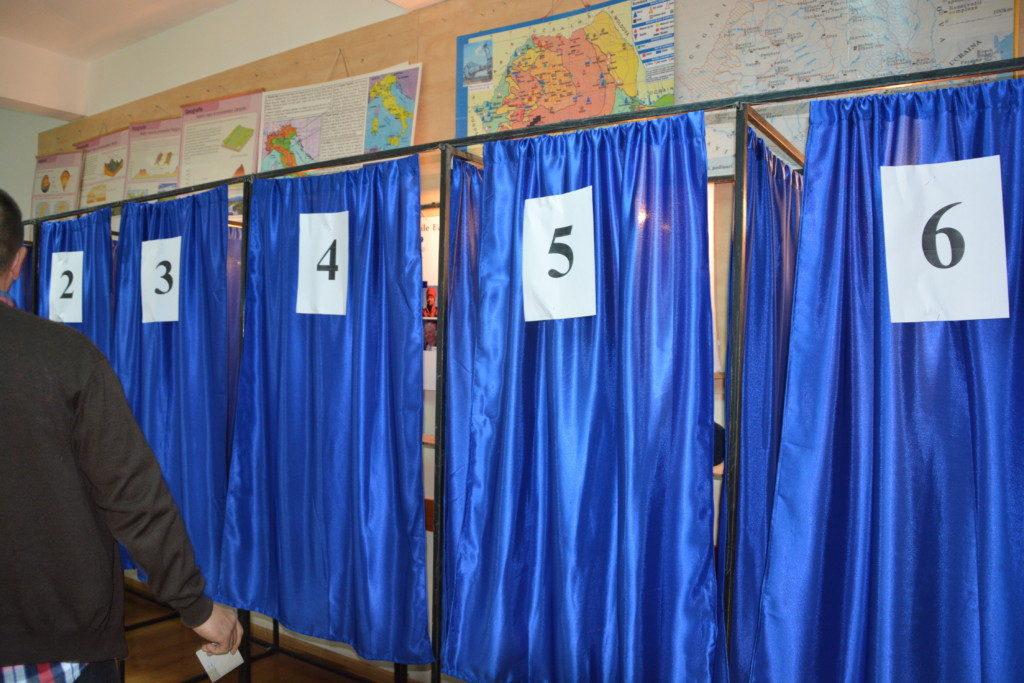 alegeri, cabina vot, sectie votare