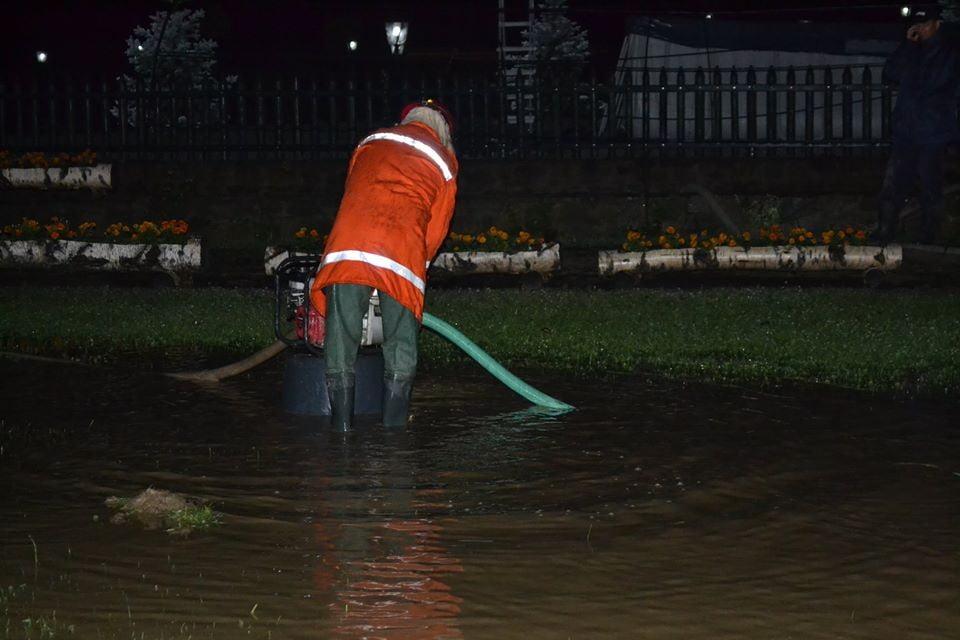 interventie pompieri inundatii