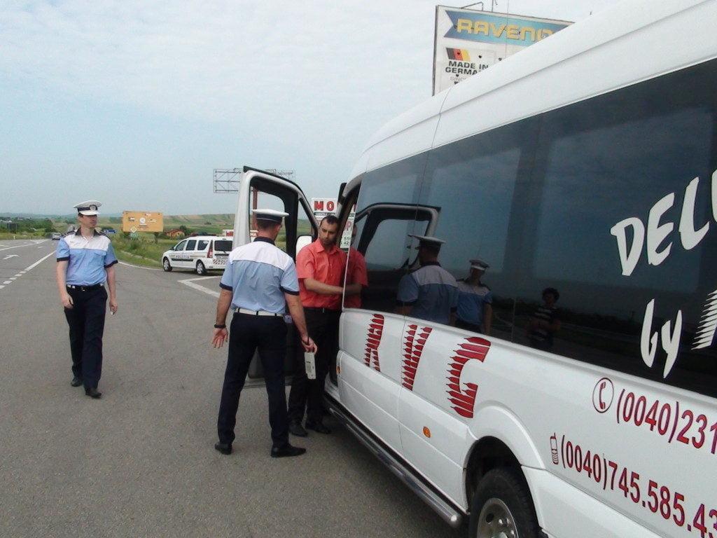 politie trafic microbuz dn  (1)