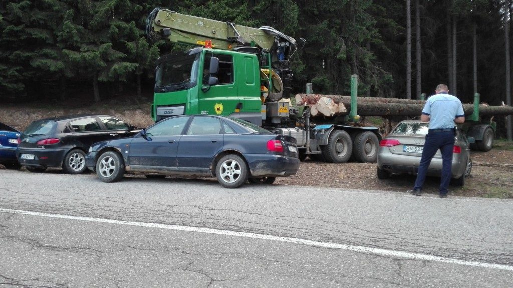 Blocare drum taf masini lemn