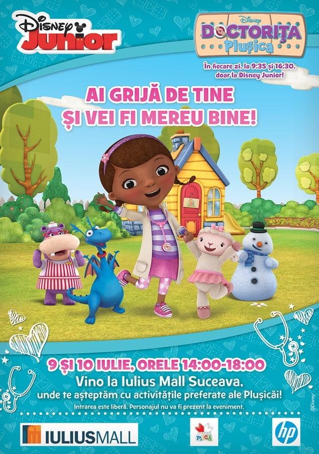 Eveniment Plusica - Iulius Mall Suceava