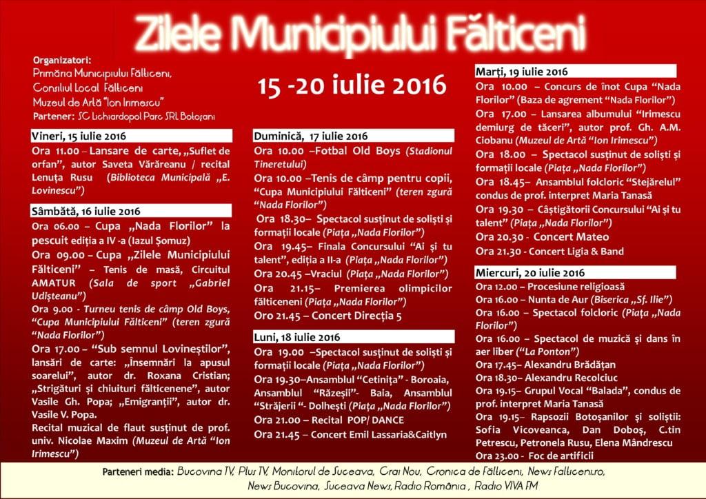 ZMF Detaliere evenimente