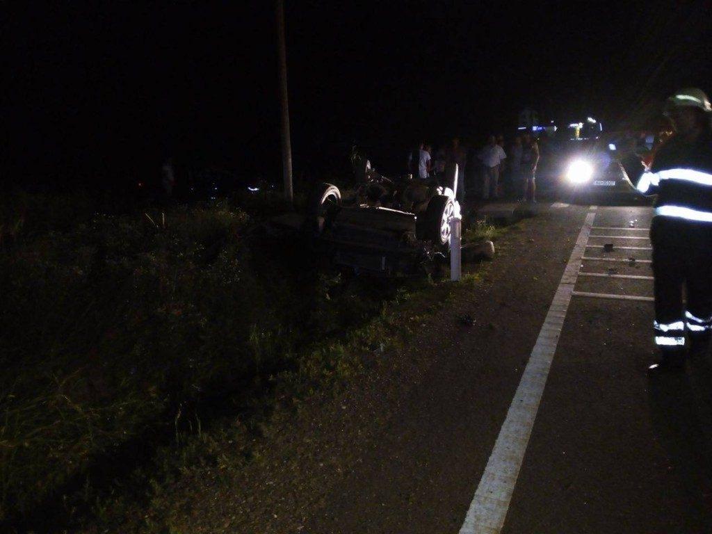 accident cupola autoturism noaptea (5)