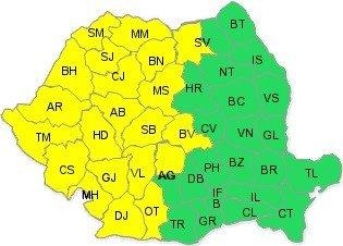 cod galben zona de munte SV