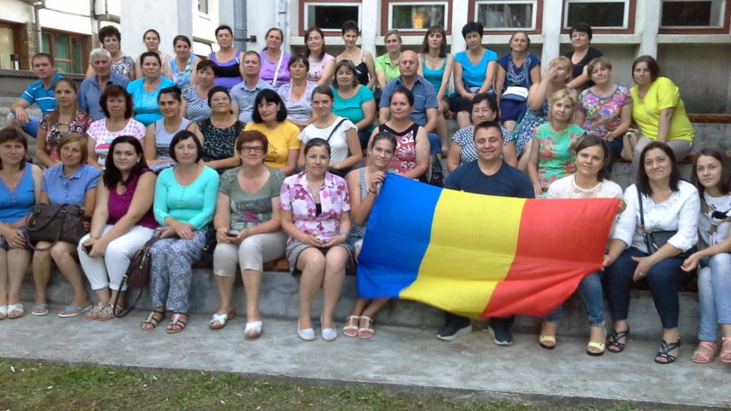 poză grup basarabeni în Suceava