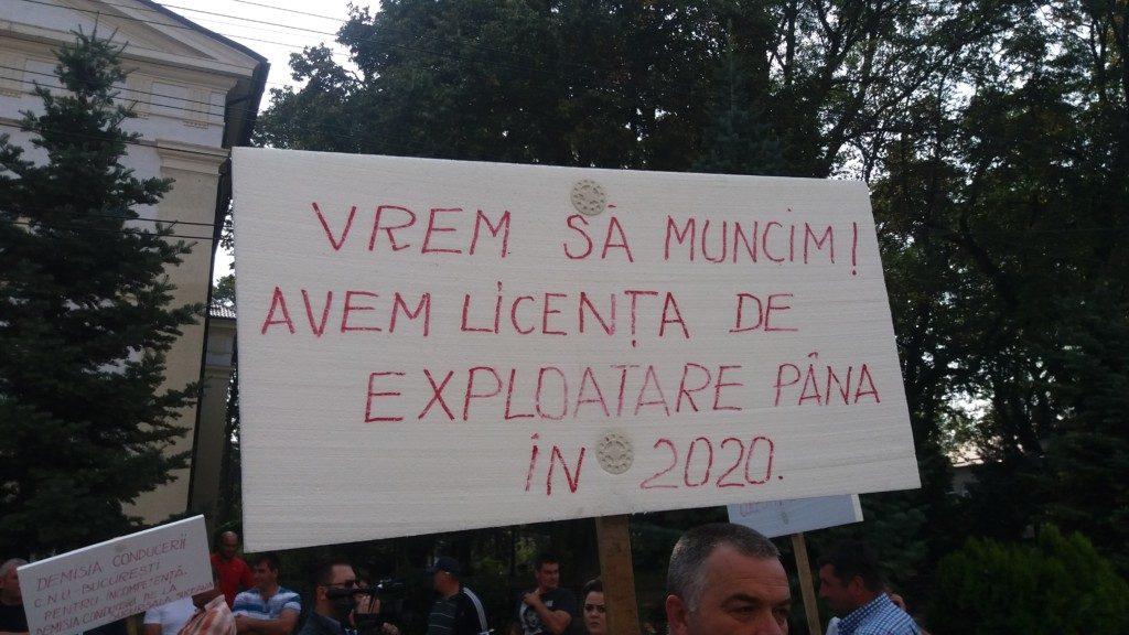 Mineri uraniu protest (10)