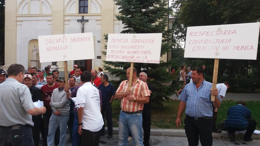 Mineri uraniu protest (17)