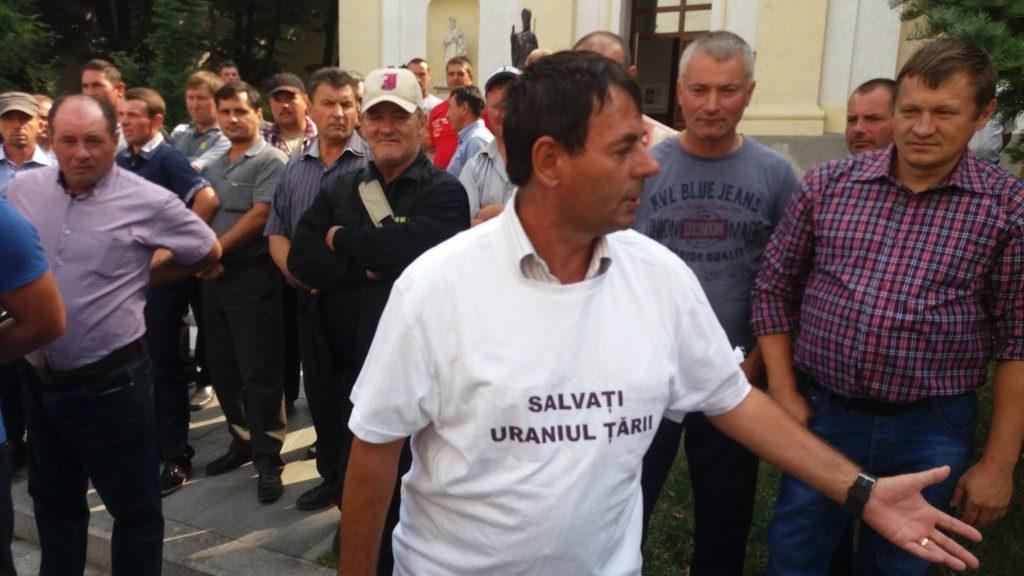 Mineri uraniu protest (9)