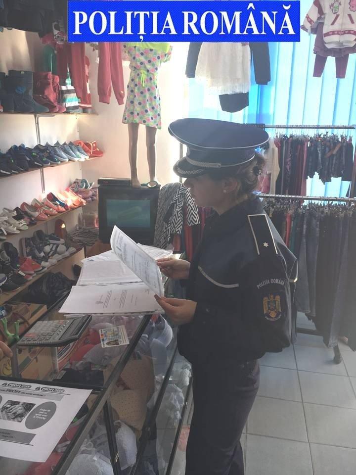 magazin, control politisti