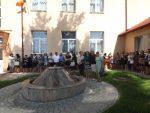 sfintire bust Stefan cel Mare la Liceul Cajvana (2)